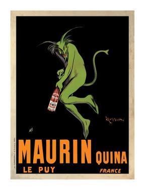 Maurin Quina, c.1906 by Leonetto Cappiello