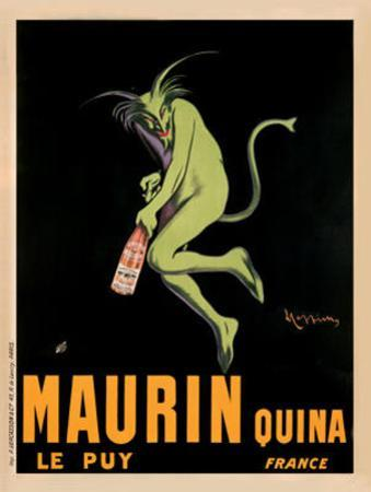 Maurin Quina, c.1920 by Leonetto Cappiello