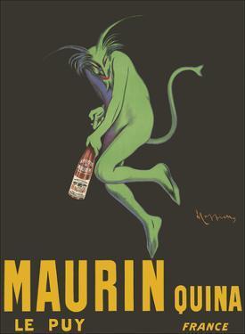 Maurin Quina - Quinina Aperitif - Green Devil - Le Puy, France by Leonetto Cappiello