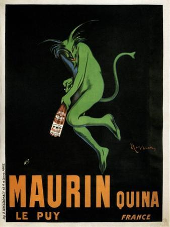 Maurin Quina by Leonetto Cappiello