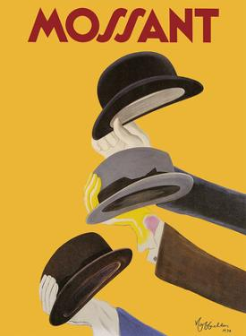 Mossant - Classic French Hats by Leonetto Cappiello