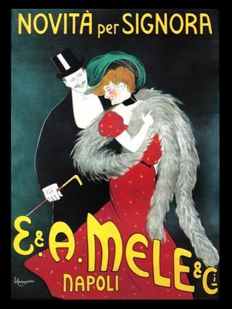 New for Signiori by Leonetto Cappiello