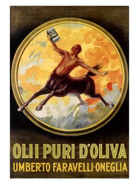 Olii Puri d'Oliva by Leonetto Cappiello