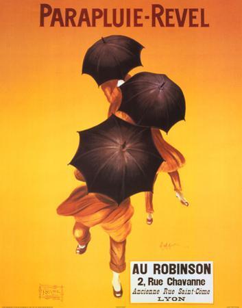 Leonetto Cappiello Parapluie Revel Umbrellas Art Print Poster