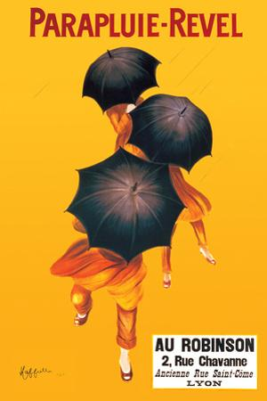 Parapluie - Revel by Leonetto Cappiello