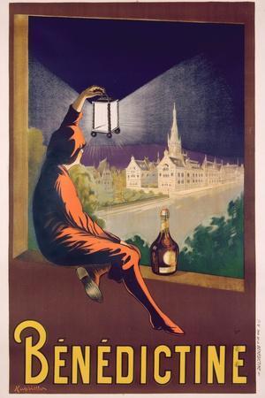 Poster Advertising 'Benedictine' Liqueur, C. 1928