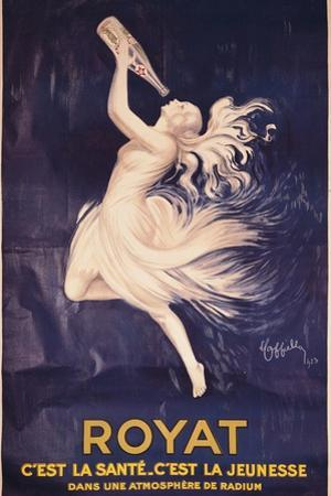 Poster for Royat by Leonetto Cappiello