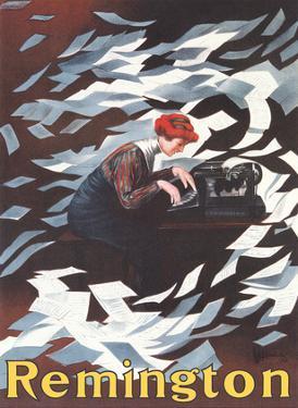 Remington 10 Typewriter by Leonetto Cappiello