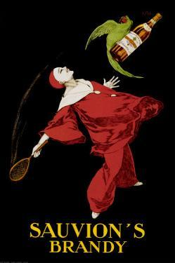Sauvion's Brandy by Leonetto Cappiello