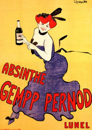 The Absinthe Gempp Pernod by Leonetto Cappiello