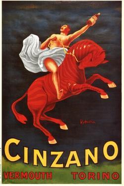Vermouth Cinzano by Leonetto Cappiello