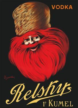 Vodka Relskys 1º Kumel - Liquor - Russian Cossack by Leonetto Cappiello