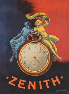 Zenith - Pocket Watch by Leonetto Cappiello