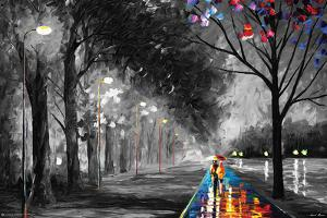 ALLEY BY THE LAKE by Leonid Afremov
