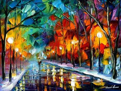 Alone Walk by Leonid Afremov