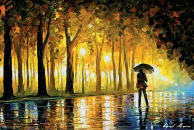 Bewitched Park by Leonid Afremov