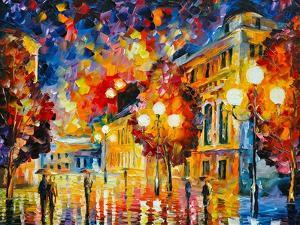 City Lights by Leonid Afremov