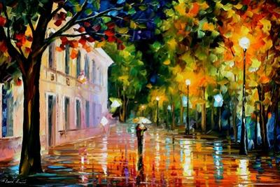 City Of Destiny by Leonid Afremov