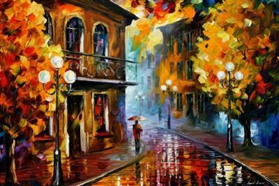 Fall Rain by Leonid Afremov
