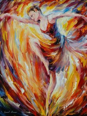 Flaming Dance by Leonid Afremov