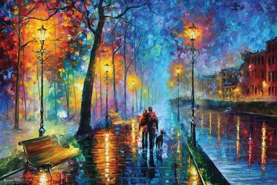 Leonid Afremov  Melody Of The NightLeonid Afremov Part 81