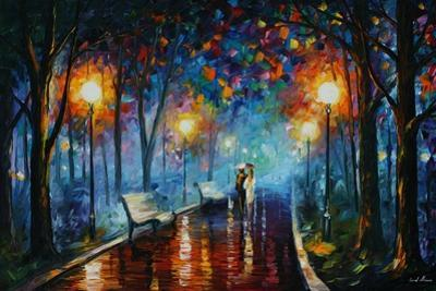 Misty Mood Of Afremov by Leonid Afremov