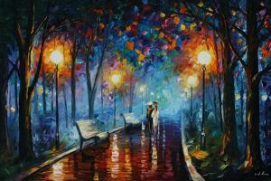 Misty Mood Of Afremov by Leonid Afremov