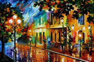 Night Flowers by Leonid Afremov