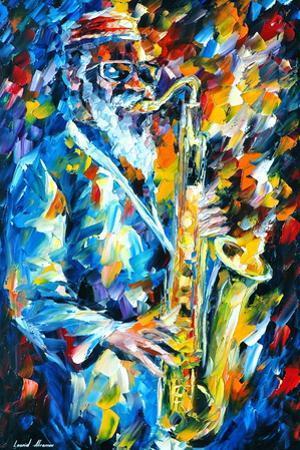 Sonny Rollins by Leonid Afremov