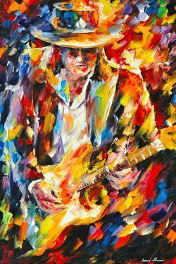 Stevie Ray Vaughan by Leonid Afremov