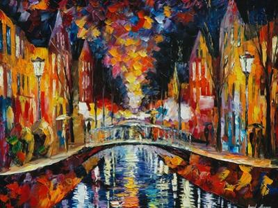The Town Bridge by Leonid Afremov