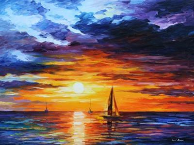 Touch of Horizon by Leonid Afremov