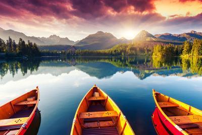 Mountain Lake In National Park High Tatra
