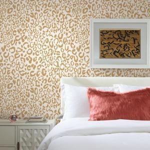 Leopard Peel & Stick Wallpaper