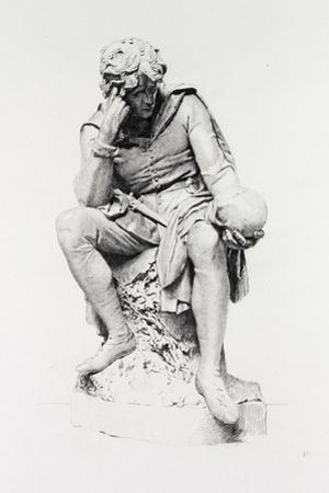 Hamlet, from the Statue by Lord Ronald Gower