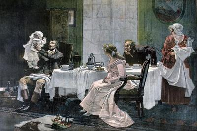 The Luncheon of Camille Desmoulins, 1892