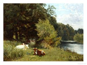 Soporific Summer Aftenoon by Leopold Rivers