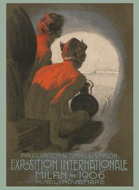 1906 Exposition International World's Fair - Milan, Italy by Leopoldo Metlicovitz