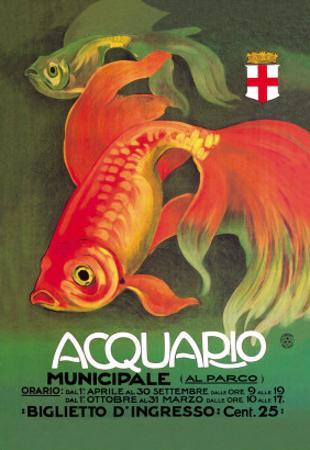 Acquario by Leopoldo Metlicovitz