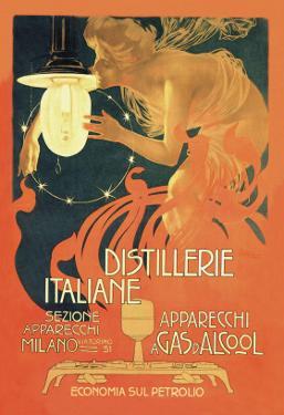Distillerie Italiane (Italian Distillery) by Leopoldo Metlicovitz