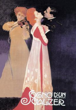 Dream of a Waltz by Leopoldo Metlicovitz