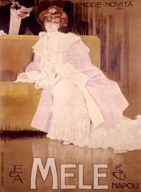 E&A Mele, Mode Novita by Leopoldo Metlicovitz