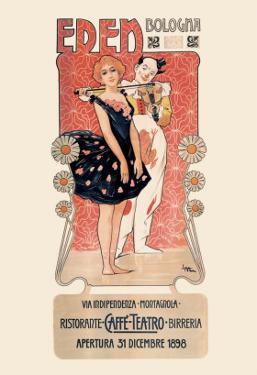 Eden: Ristorante-Caffe-Teatro-Birreria by Leopoldo Metlicovitz