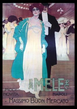 Formal Attire by Mele by Leopoldo Metlicovitz