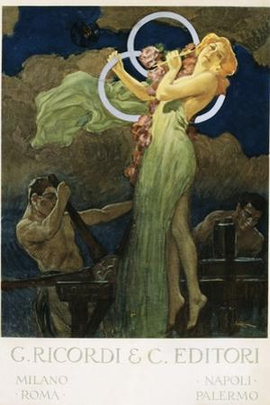 G. Ricordi and C. Editori Poster by Leopoldo Metlicovitz