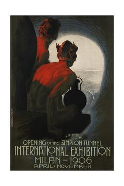 International Exhibition, Milan, 1906 Poster by Leopoldo Metlicovitz