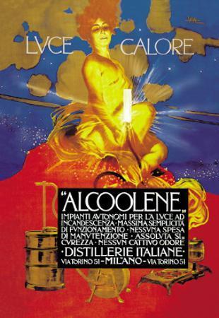 Luce Calore by Leopoldo Metlicovitz