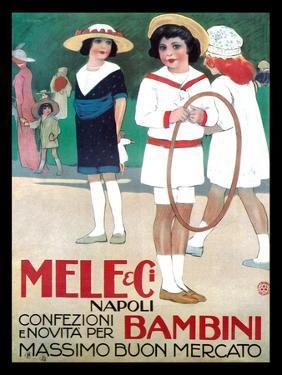 Mele Clothes for Children by Leopoldo Metlicovitz