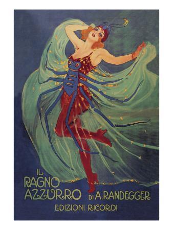 Ragno Azzurro (The Blue Spider)