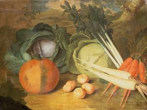 Still Life of Vegetables by Leopoldo Metlicovitz
